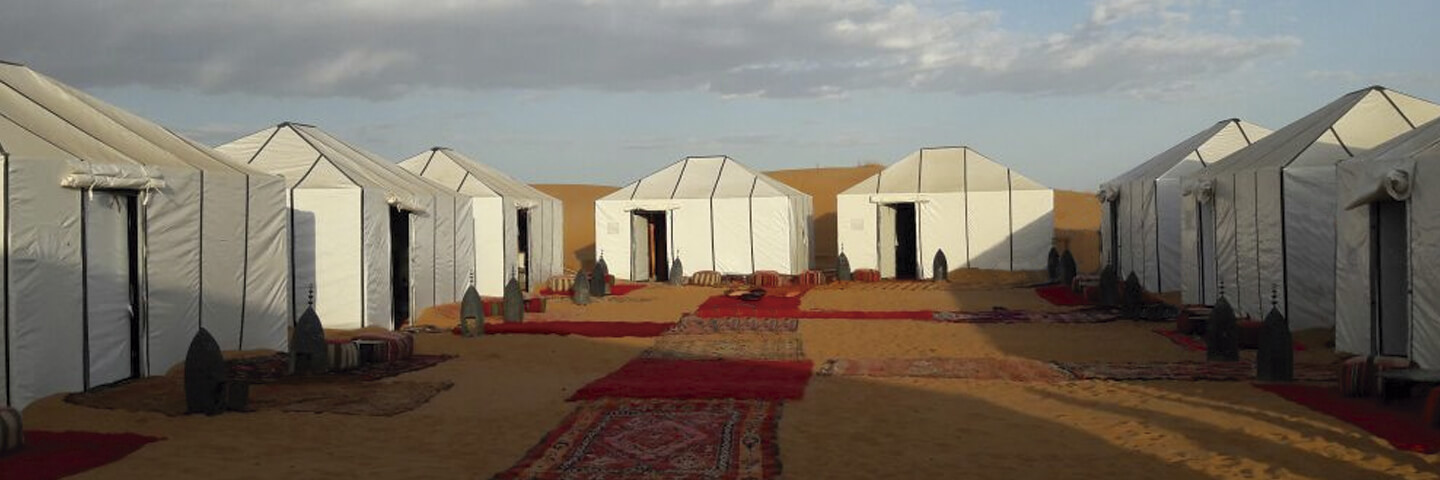 Morocco Sahara desert camp for cheap holidays to Morocco