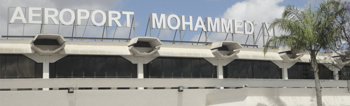 Casablanca airport end honeymoon